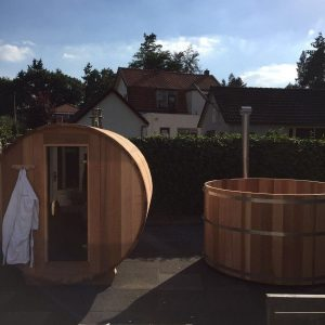 Barrelsauna Red Cedar BS200