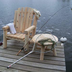 Standaard Log Chair