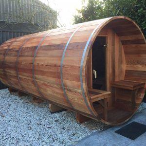 maatwerk barrelsauna's en saunapod's